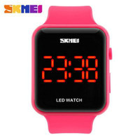 Wholesale New product contracted boys present Waterproof China Led Watches Sport Fashion Style men s Sport watch red calendar Numbers
