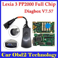 Wholesale DHL Free Lexia Lexia3 V48 for Citr0en Peuge0t Diagnostic PP2000 V25 with Diagbox V7 Software Support P euge0t with Full Chip