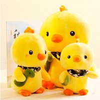 Wholesale Unisex Plush Toys Chicken Plush Doll Hold Pillow Home Decoration Cute Yellow Chicken Stuffed Animal Plush Toys Gifts For Kids