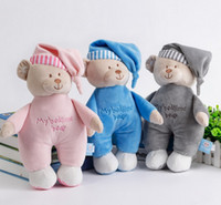 Wholesale 2016 CM Infant sleep appease appease towel doll baby bear plush toy doll years