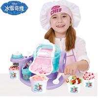 Wholesale Disney s ice cream frozen ice cream machine household ice cream machine ice fruit machine toys
