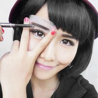 Wholesale Thrush Tools Eyebrow Stencils Style Stencil MakeUp Shaping Beauty Eyebrow Make Up Tools Accessories
