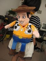 Wholesale EMS Toy Story WOODY Plush School Bag Backpack quot Brand New