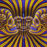 american surrealism - Alex Grey Bardo Being Surrealism canvas art print home decor silk poster x24 quot