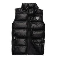 achat en gros de gilets xxl hommes-Vente chaude 2016 Mode Nouvelle veste Hommes Mode Outwear manteaux Chaude Veste Casual Down Vestes marque de haute qualité Drop Livraison gratuite