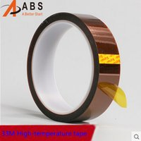 Wholesale High quality mm m ft Adhesive Tape High Temperature Heat Resistant Polyimide for Electronic Industry