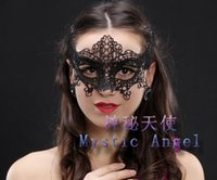 best beauty schools - Mask Masks Christmas Party Mysterious Angels For Adult Beauty Lace Sexy Masks Factory Best Price Luxury Many Items Options High Quality