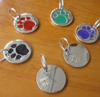 Wholesale Anti Lost Personal Pet ID Tag Stainless Steel Dog Tag Pet Tags New Arrival Promotion