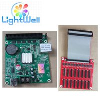 Wholesale RGB Full color x128 LED display asynchronous control card TF VTA02 with hub12 for small size led panel