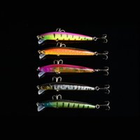 Wholesale Hot Colour ounces inches Plastic Minnow Fishing Lures Floating Rattles Bass Crankbait D Eyes Fishing Lures Fast DHL