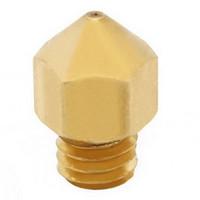 Wholesale 1Pc mm mm mm mm Copper Extruder Nozzle Print Head for Makerbot MK8 D Printer B00044 CADR