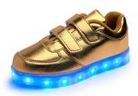autumn winter fashionable shoes - Children s shoes men and women led lighting lamp lights Fashionable Shoes