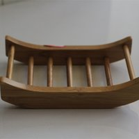 Cheap Bamboo soap dishes,handmade bamboo soapbox,creative household Bathroom item soap holder