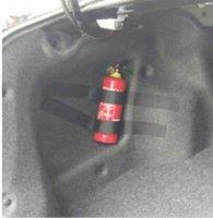 Precio de Fire extinguisher-5pcs / set Tronco del coche para recibir el contenido de la tienda bolsa de almacenamiento de red para Skoda Fabia Rapid Superb Yeti Extintor de coches de estilo