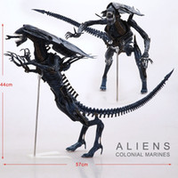 aliens model - NECA Big quot Aliens Alien Queen Deluxe Boxed PVC Action Figure Limited Edition Collection Model Toy Gift