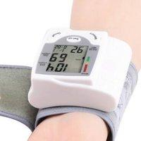 Wholesale New Arrive Automatic Digital Wrist Blood Pressure Monitor Heart Beat Meter Sphygmomanometer Prevent Hypertension