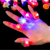 Wholesale Toys gift Luminous ring Christmas Halloween the children s day birthday parties and other small gift toys hybrid delivery of the design