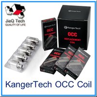 Wholesale KangerTech OCC Subtank Replacement Horizontal Coil OCC Coils Organic Cotton Coils ohm For Kanger Subtank Atomizer