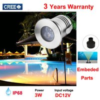 Wholesale 10pcs IP68 v W RGB warm white white cool white Outdoor underwater light with pre assembly