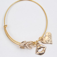 Wholesale 2016 New Fashion Jewelry Europe and America Alex and Ani alloy Miss Jin Shuye popular bracelet hand ring