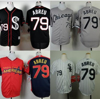 baseball jersey designs - Chicago White Sox Jerseys Jose Abreu Jersey New Design Black Gray Best Stitched Authentic Baseball Jerseys