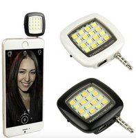 android external speakers - 1pcs Smart Selfie LED Camera External Flash Light for IOS Android Smartphone mm Jack