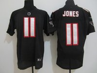 american jones - new elite american football jersey JONES men jerseys adult shirts man shirt stiched white red black tops throwback top