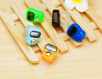 Wholesale 500pcs Cheapest Mini Finger Hand Held Tally Counter Digit LCD Electronic Digital Golf Counter