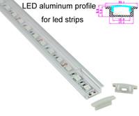 aluminum anodizing - Factory anodizing U LED aluminum profile for led strip fooring light smd5050 led channel profile led alu profile X0 M