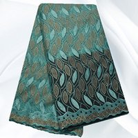 Wholesale Newest French Lace Fabric Embroidery Tull African Net Lace Fabric For Yards