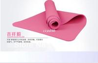 Wholesale OriginaI Anti skidding Tpe Yoga Mat TPE Household Cushion Blanket Non Slip Mat mm Slip resistant YF002