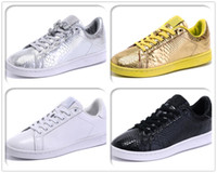 snake skateboard - Stan Smith Shoes Python Skin Snake skin Mens Womens Classic Skateboard Original Shoes Fashion Leather Casual Flat Sneakers Eur Size