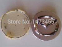 Wholesale 4pcs mm Mazda wheel center caps hubcaps fit mazda Freeshipping cap pot cap unicorn