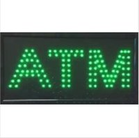 animations bar - 20PCS price x10 x0 ATM LED SIGN Animation Flash BRIGHT GREEN indoor use Come With POWER ON OFF Switch