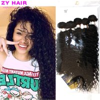 Wholesale Cheveux Bresilien Curly Bundles Tissage Bresilien Avec Closure Kinky Curly Wave VirginHair with Free Bundle and Top Closure