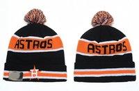 beach houston - HOUSTON ASTROS Beanies hats Sports Beanie Knitted Hats New Design Team Hats Sports Cap Fashion Beanies Women Men Snapback hats