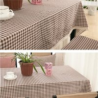 Wholesale 1pc New Arrival Table Cloth Fresh Style High Quality Lace Tablecloth Decorative Elegant Table Cloth Linen Table Cover cm