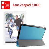 Wholesale OnSale Promotional Protective Colorful Black White Leather Case Cover for ASUS Zenpad Z300 Z300C Tablet PC
