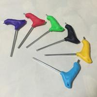 Wholesale Inline Skates spanner roller blade tools Effort inline skate wrench roller skate T Handle skate shoes Hex Key