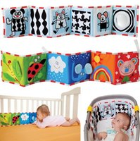 Wholesale Taf Toys Nursery Decor double bed around the bed around the black and white color book ornaments Color perception bed ornaments