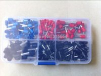 Wholesale 400 electrical cooper ferrule kit crimp terminal connector assorted AWG to AWG10 mm mm mm