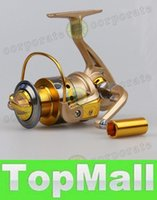 Wholesale LAI new BB Speed Ratio Metal Spinning Fishing Reel EF1000 Ocean Sea Boat Ice Fishing tackle Aluminum FISHING REEL