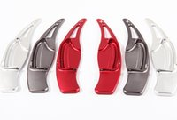 Wholesale 2pcs Brand New High quality Aluminum Steering Wheel Shift Paddle Shifter Extension For Honda civic