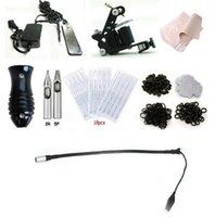 1 Gun art starters - 2016 Complete Tattoo Machine Equipment Set Starter Kit Guns Supply Body Art L Kit