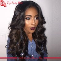 affordable glueless full lace wigs - Affordable Full Lace Wigs Body Wave Human Hair Lace Front Wig Glueless Brazilian Hair Full Lace Wigs For Black Women