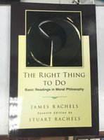 Wholesale 2016 The Right Thing To Do Basic Readings in Moral Philosophy DHL