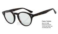 astigmatism optics - Retro classical optic eye glasses RB2180 V Round Acetate style Tortoise frame for astigmatism hyperopia myopia size high end fashion