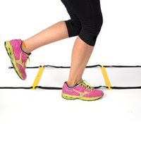Wholesale High Quality Outdoor Sports New Durable Rung Agility Ladder for Football Soccer Speed Training Equipment Free DHL