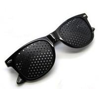 Wholesale Black Eyes Exercise Eyesight Vision Improve Care Glasses Sunglasses Natural Healing Vision Protection Glasses Eyes Glasses