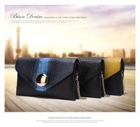 american bison wallet - Bison crocodile handbag Large Shoulder Bag Messenger Bag Leather small bag bag Han Banchao